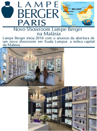 Novo Showroom Lampe Berger - Ambientes Exclusivos