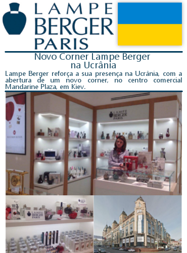 Lampe Berger na Ucrânia - Ambientes Exclusivos