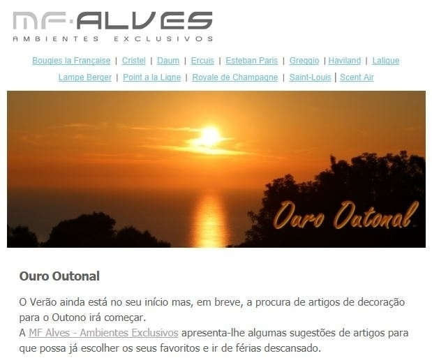 Ouro Outonal - Ambientes Exclusivos