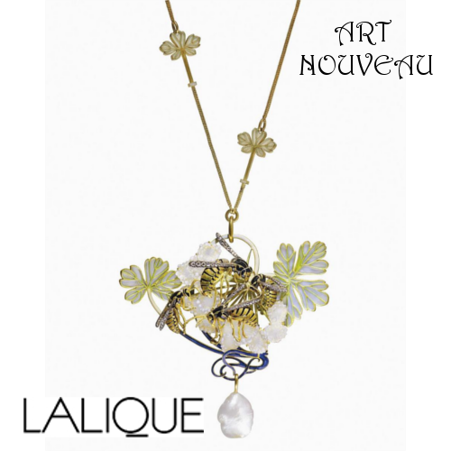 Colar Art Nouveau Lalique estabelece novo recorde - Ambientes Exclusivos